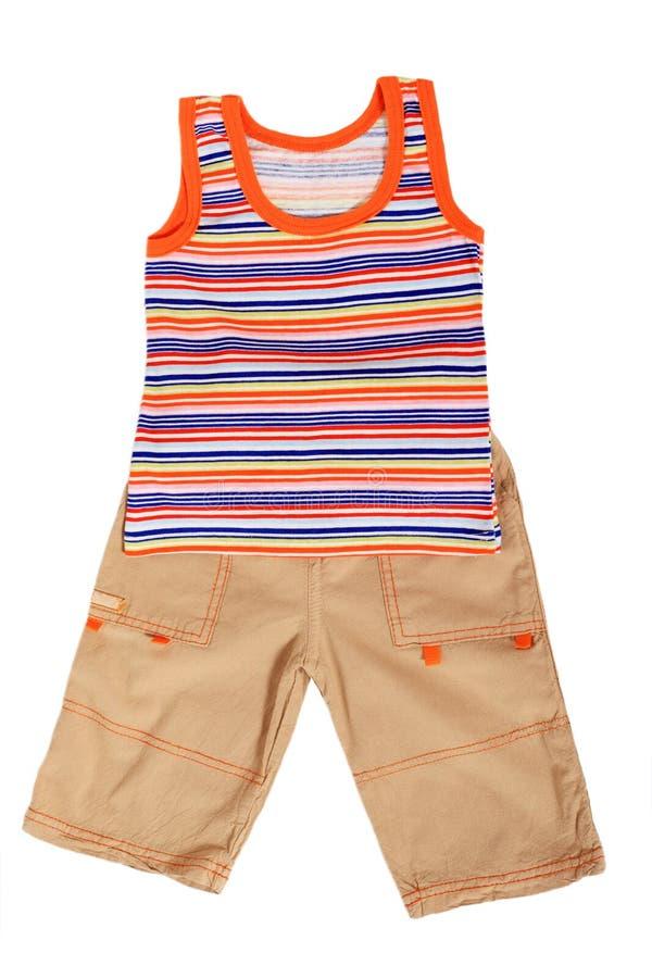 De kleren van kinderen royalty-vrije stock foto's