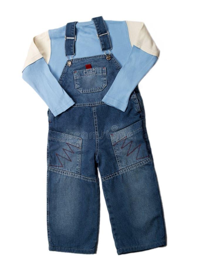 De kleren van kinderen stock afbeelding