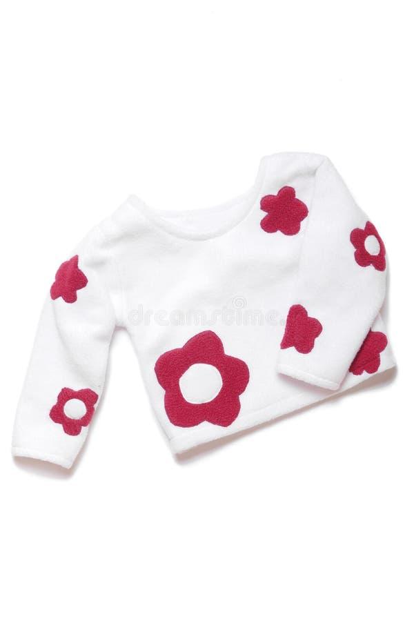 De kleren van kinderen: verbindingsdraad royalty-vrije stock afbeelding