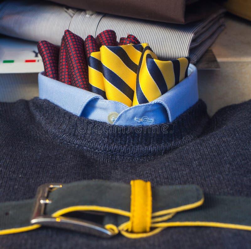 De kleren van mensen stock foto
