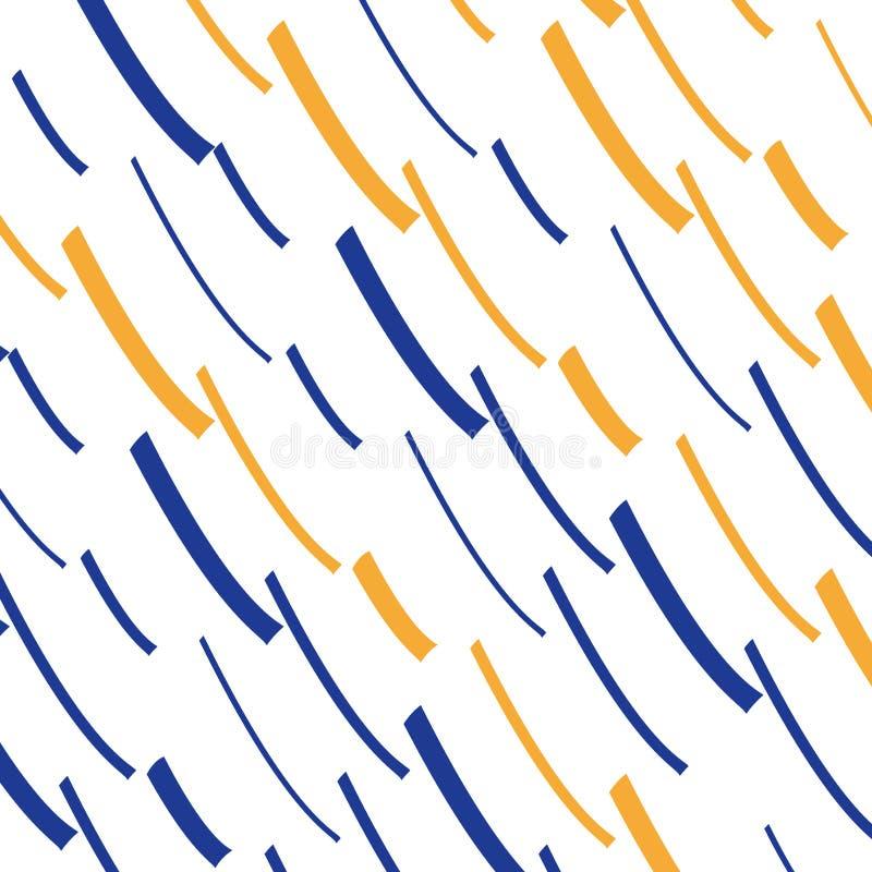 De kleur schiet patroon, losse lijnenachtergrond weg stock illustratie