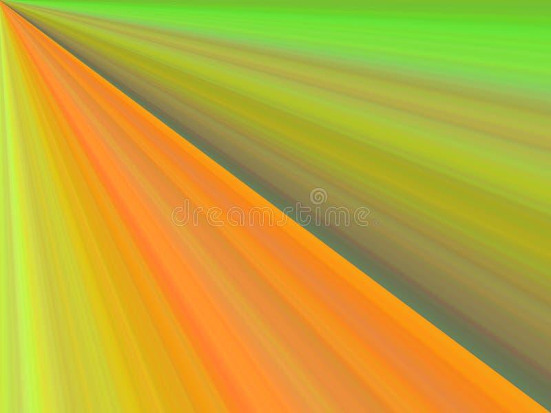 De kleur van de aard stock illustratie