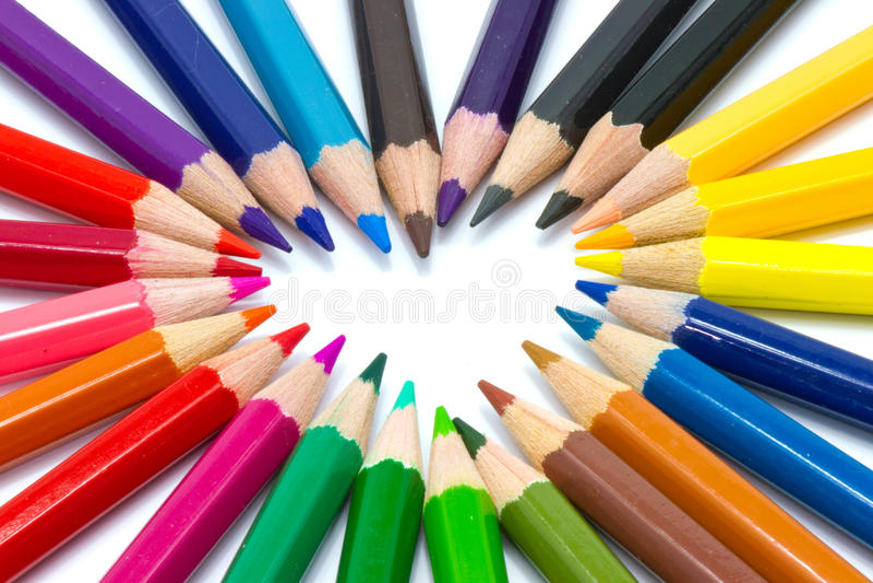 De kleur van de liefde royalty-vrije stock foto's