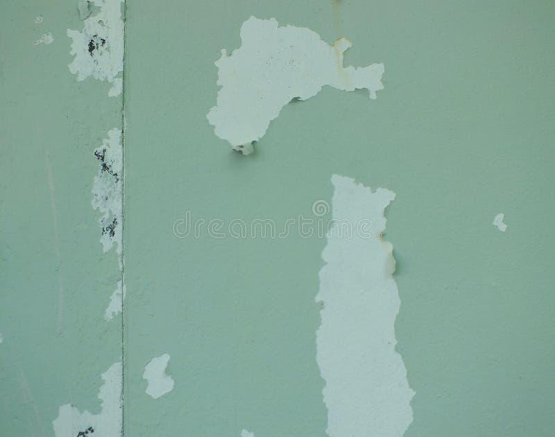 De kleur van het huis pelt weg royalty-vrije stock foto