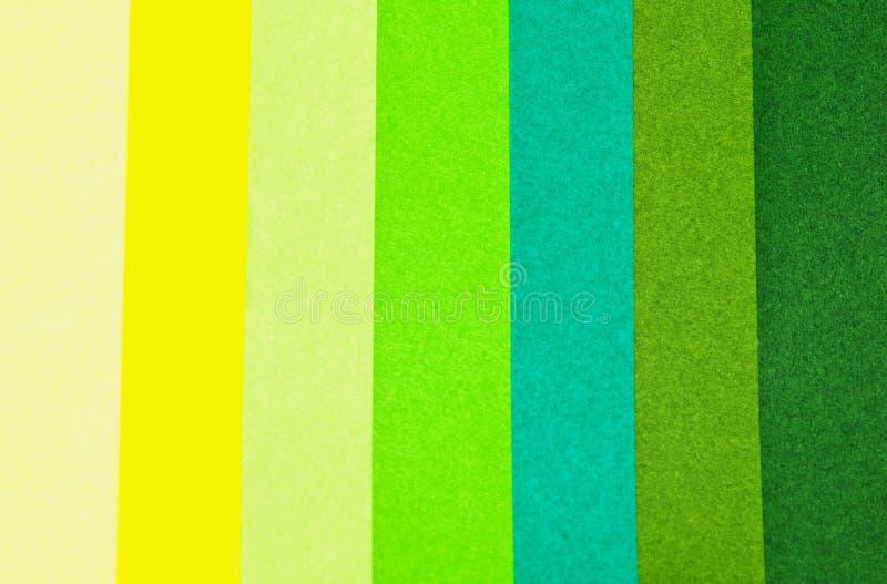 de kleur van het kleurdiepte Groenboek stock afbeelding