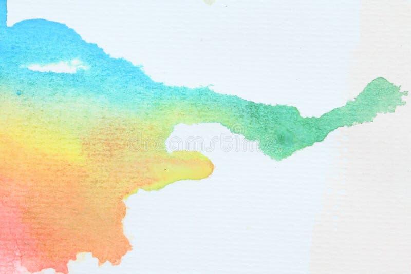 De kleur van het water stock afbeelding