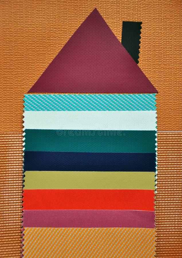 De kleuren van de steekproef stock fotografie