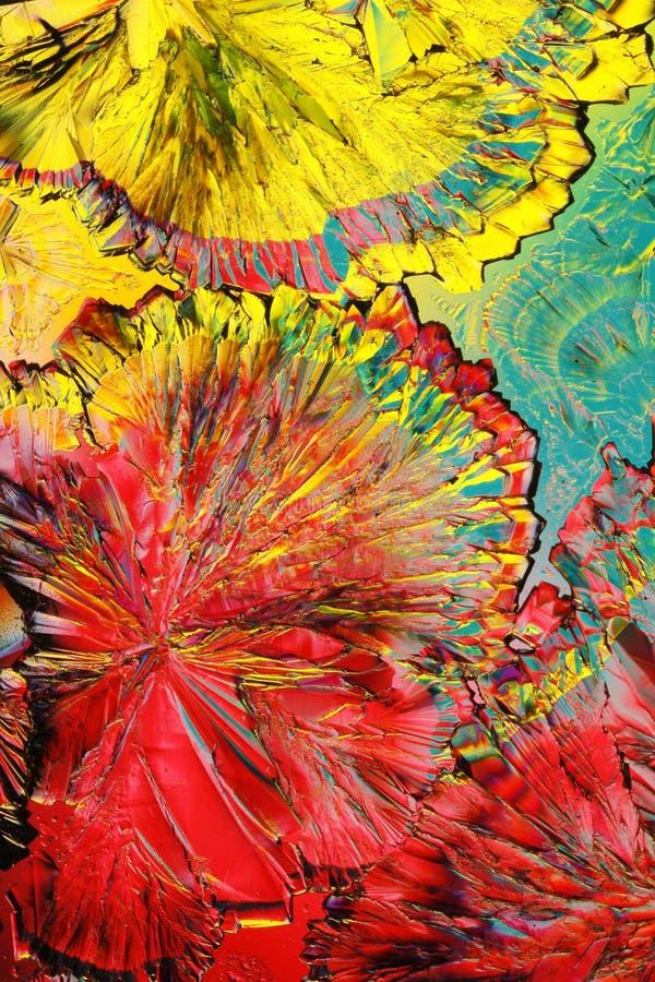 De Kleuren van het Citroenzuur royalty-vrije stock foto's