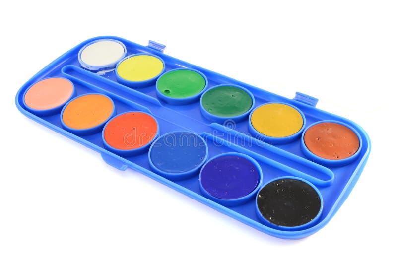 De kleuren van het water royalty-vrije stock foto's