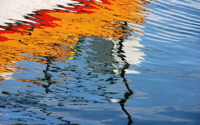 De kleuren van het water royalty-vrije stock afbeelding