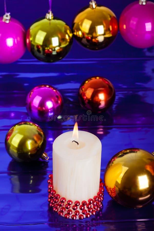 De kleuren van Kerstmis stock fotografie