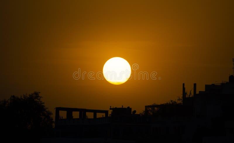 De kleuren van de zon stock afbeelding