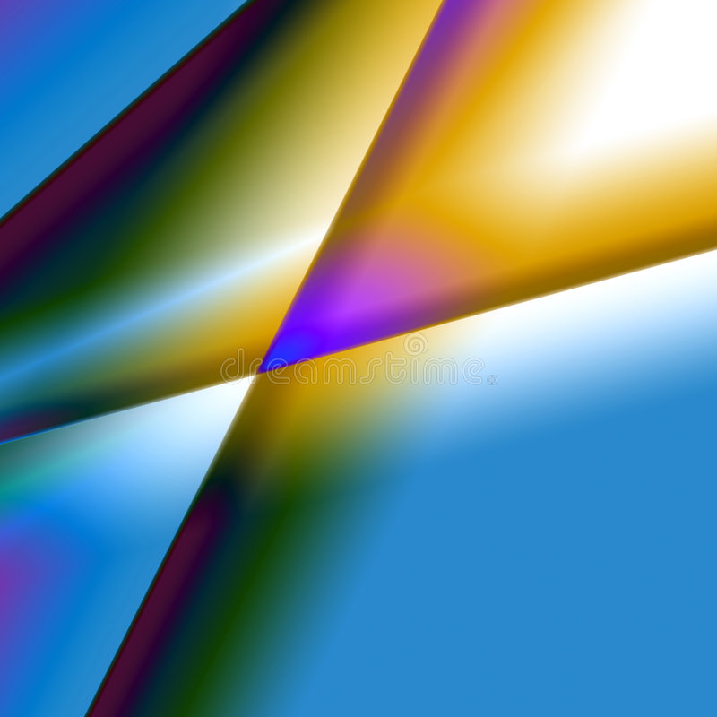 De kleurrijke Abstracte Achtergrond van het Prisma stock fotografie
