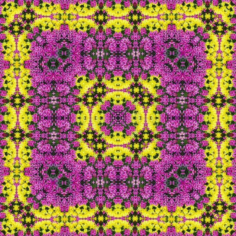 De kleurrijke Achtergrond van de Bloem royalty-vrije illustratie