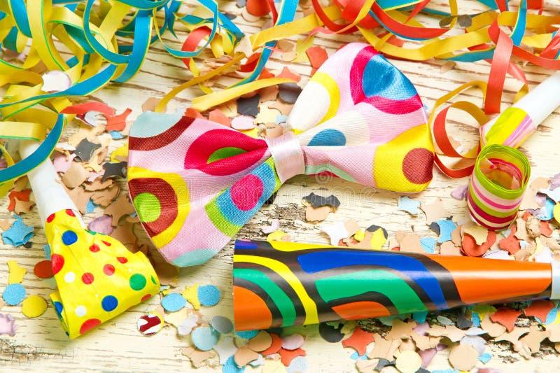 De kleurrijke achtergrond van Carnaval royalty-vrije stock fotografie