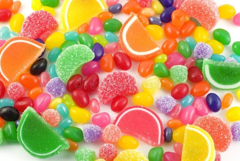 De kleurrijke Achtergrond van het Suikergoed stock afbeeldingen