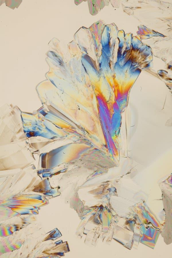 De kleurrijke Achtergrond van Kristallen royalty-vrije stock afbeeldingen