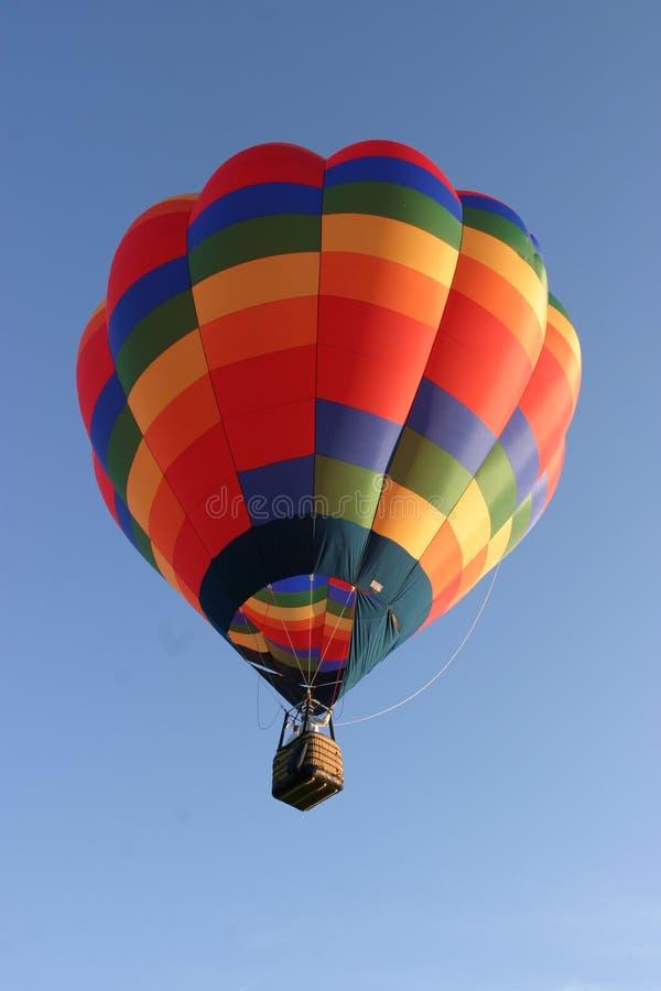De kleurrijke Ballon van de Hete Lucht stock foto's