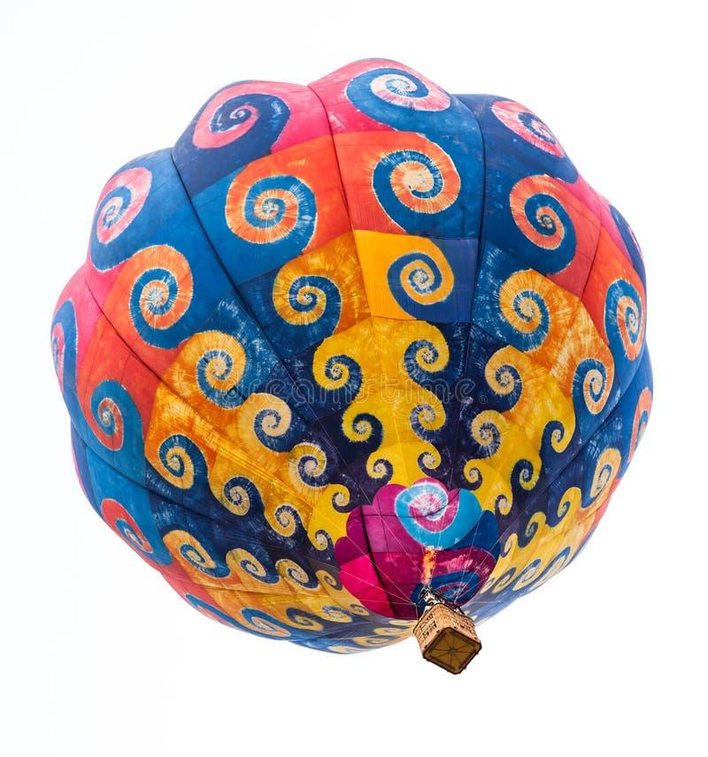 De kleurrijke Ballon van de Hete Lucht stock afbeeldingen