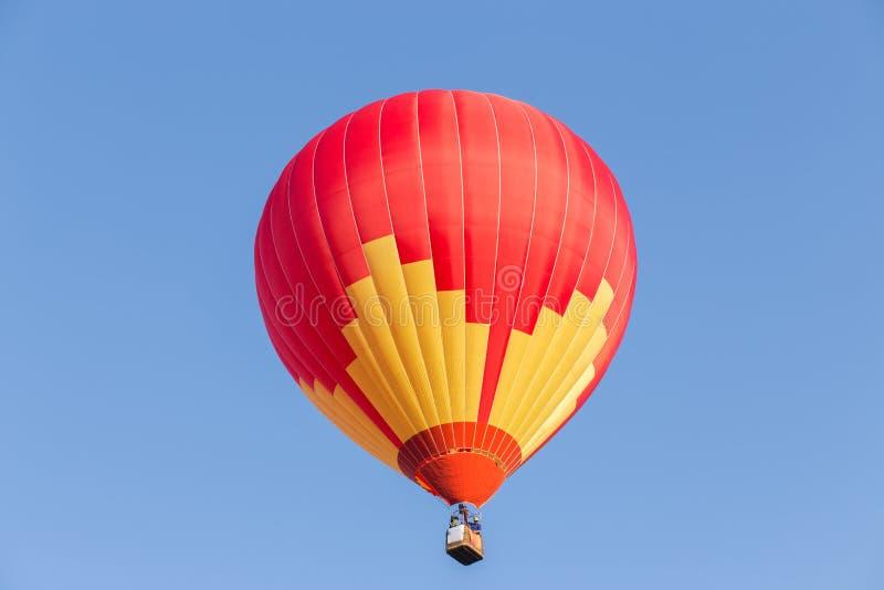 De kleurrijke Ballon van de Hete Lucht stock afbeelding