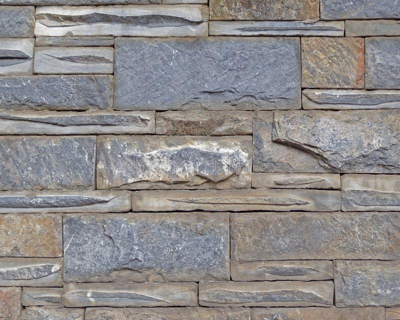 De kleurrijke close-up van de steenmuur royalty-vrije stock foto