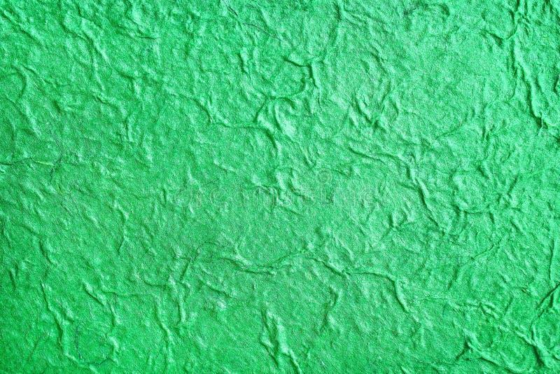 De kleurrijke heldergroene moerbeiboomdocument abstracte hoogste mening van de patronentextuur voor achtergrond royalty-vrije stock foto