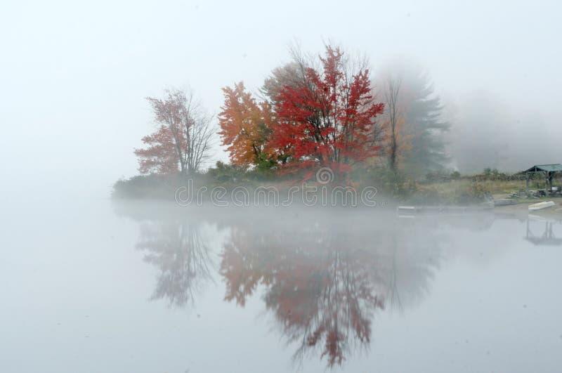 De kleurrijke Herfst in New England stock afbeelding