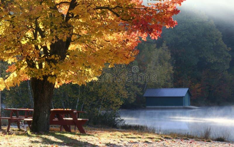 De kleurrijke Herfst in New England royalty-vrije stock foto's