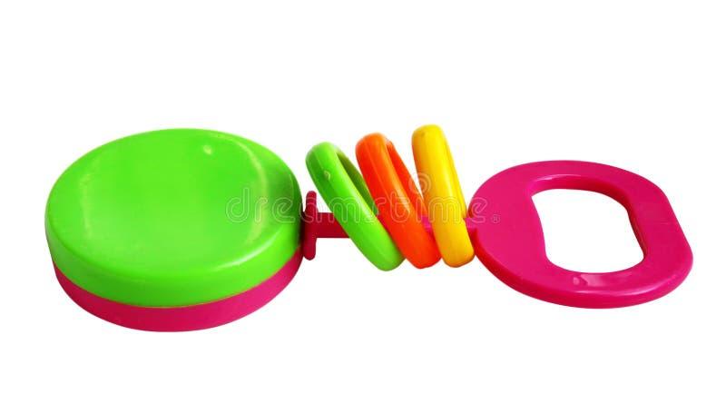 De kleurrijke Rammelaar van de Baby royalty-vrije stock afbeelding