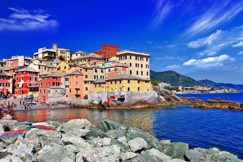 De kleurrijke reeks van Italië stock afbeelding