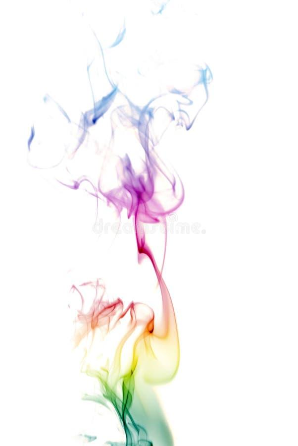 De kleurrijke Rook van de Regenboog stock fotografie
