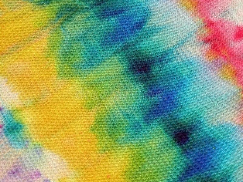De kleurrijke textuur van de stoffenoppervlakte, Litouwen stock foto's