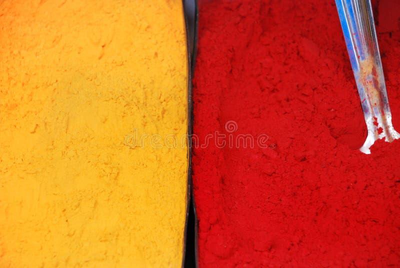 De Kleurstoffen van de kleur stock foto's