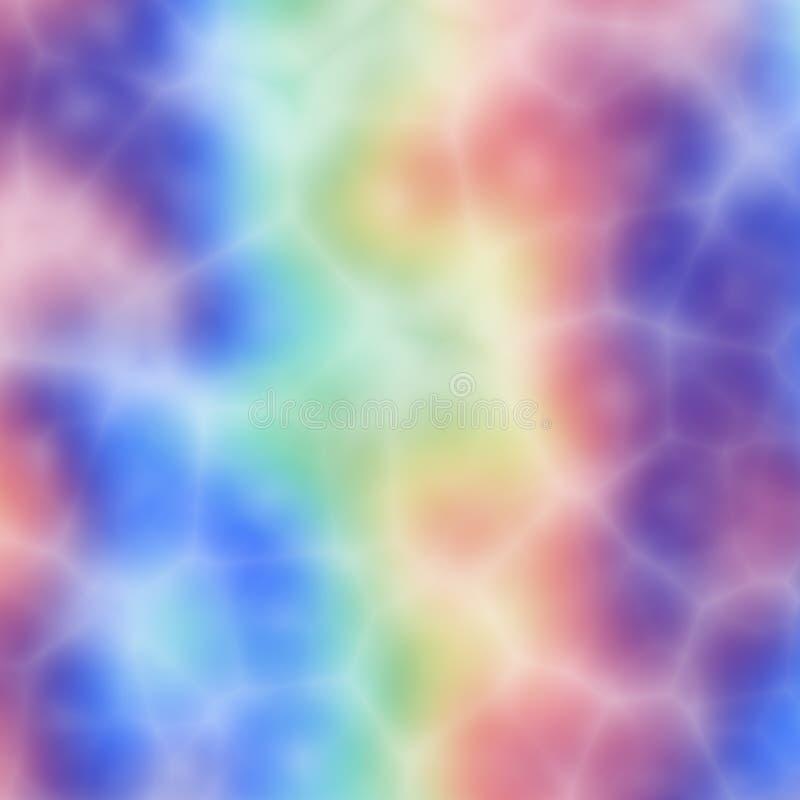 De kleurstofpatroon van de band vector illustratie