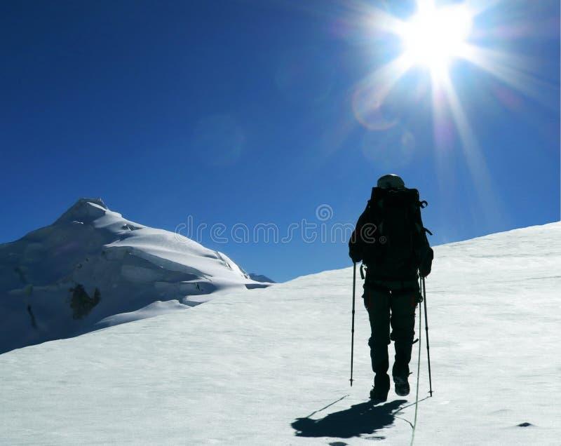 De klim stock fotografie