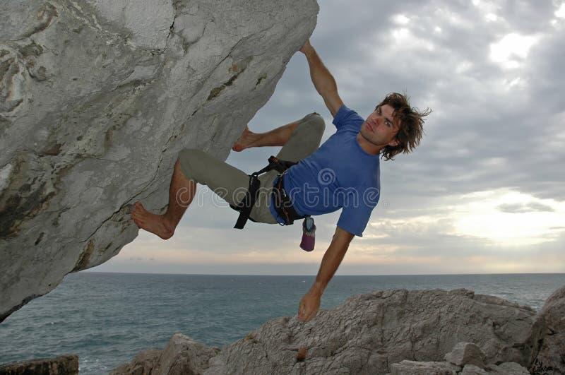 De klim #3 stock afbeelding