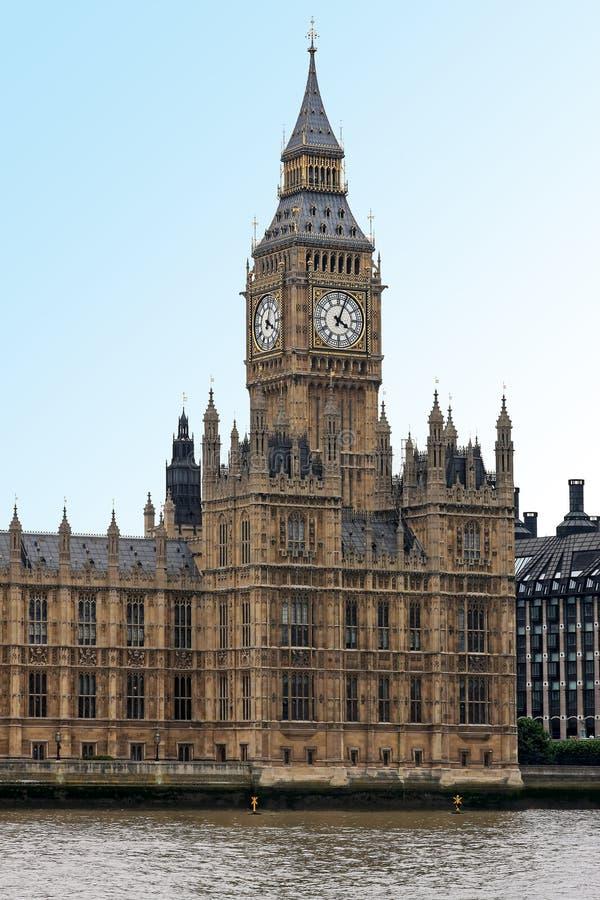De klok van de Big Ben stock fotografie