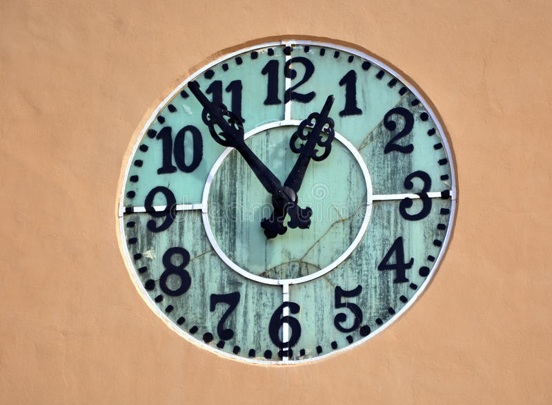 De klok van de Brasovstad royalty-vrije stock afbeelding
