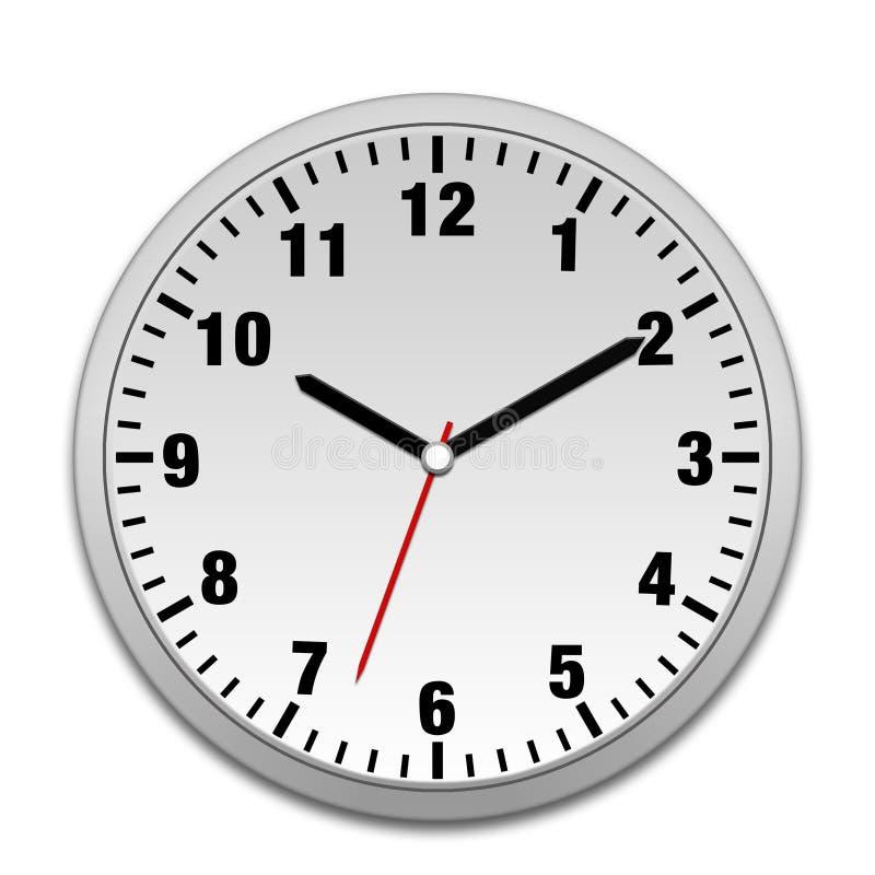 De klok van de muur vector illustratie