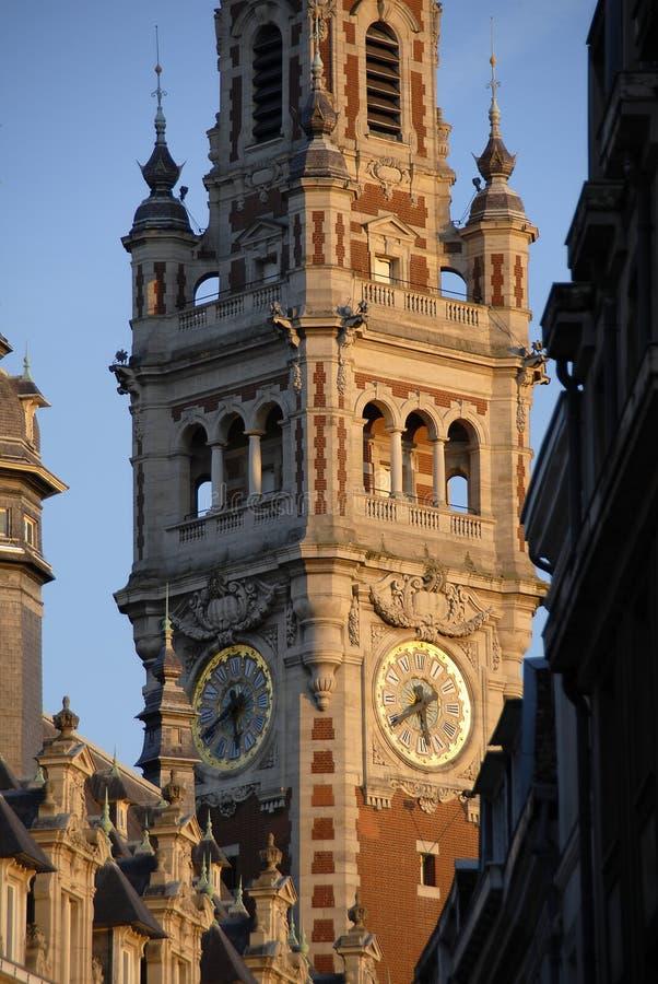 De klok van de stad. royalty-vrije stock foto's