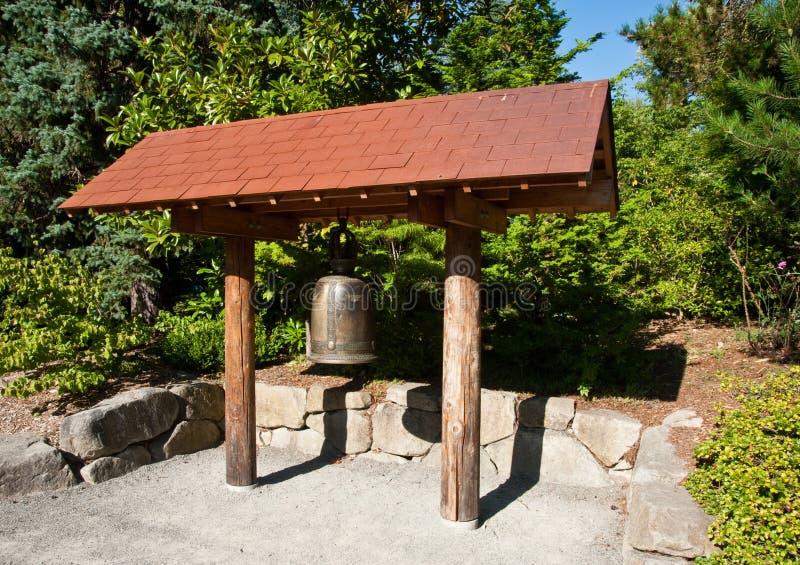 De klok van de Tuin van Kubota royalty-vrije stock afbeeldingen