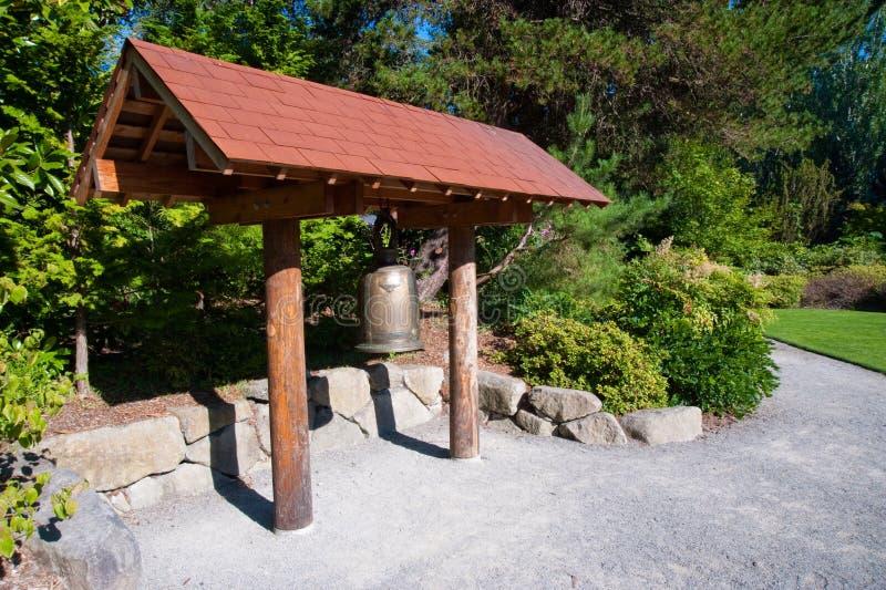 De klok van de Tuin van Kubota stock fotografie