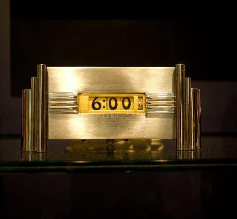 De klok van het art deco stock foto 39 s afbeelding 21672413 - Deco van het appartement ...