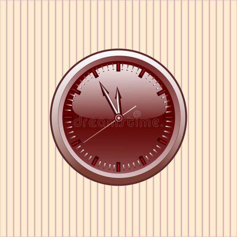 Download De Klok van het bureau vector illustratie. Illustratie bestaande uit snelheid - 10777436