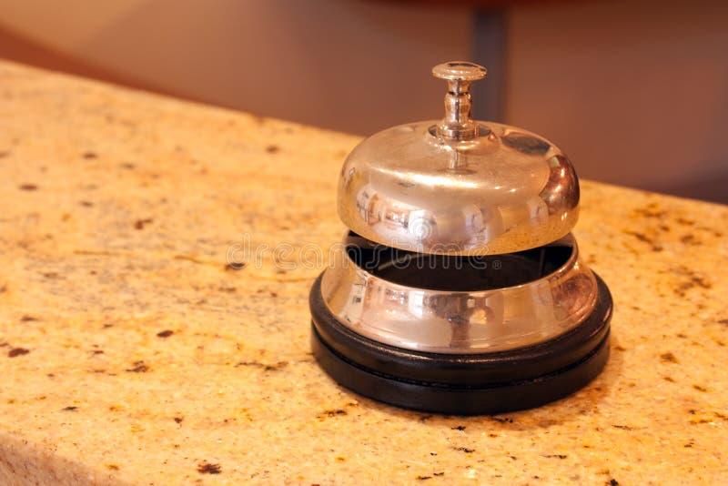 De klok van het hotel stock foto