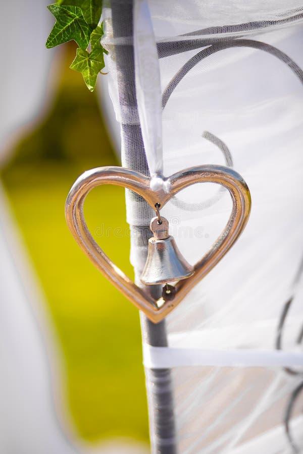 De Klok van het huwelijk stock foto's