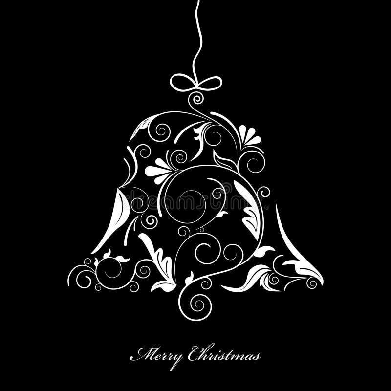 De klok van Kerstmis royalty-vrije illustratie