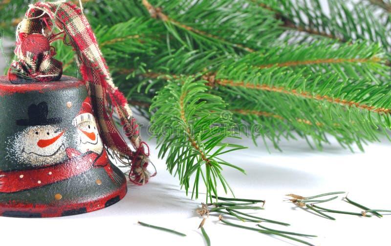 De klok van Kerstmis royalty-vrije stock foto
