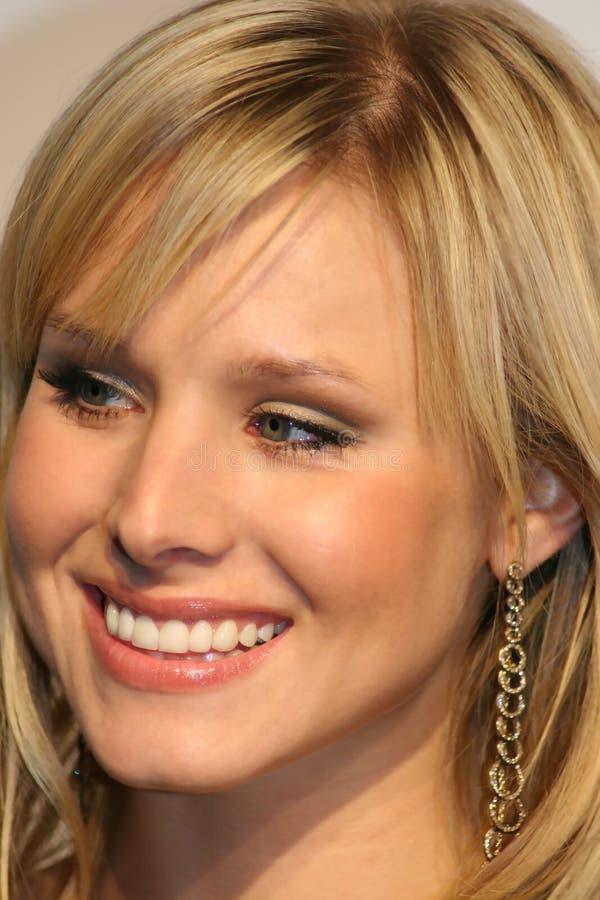 De Klok van Kristen van de actrice van Hollywood stock afbeeldingen