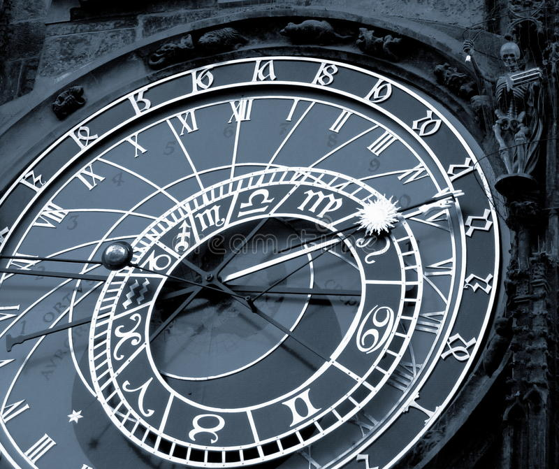 Download De Klok Van Orloy - Symbool Van Praag. Stock Afbeelding - Afbeelding bestaande uit aardig, up: 10776515